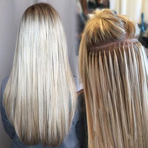 Keratinski produžetci od prave kose su vrlo kvalitetni